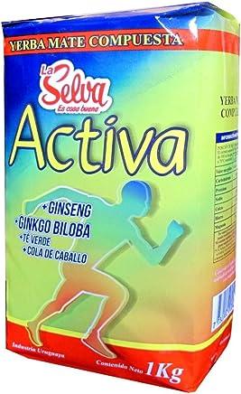 La Selva Yerba Mate Active Energy Blend (Activa) With Ginseng And Gingko Biloba