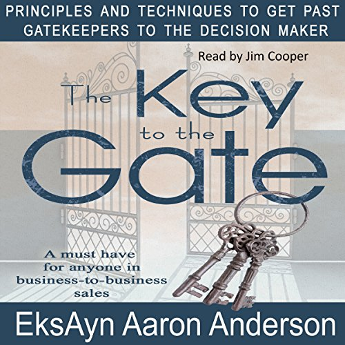 The Key to the Gate audiobook cover art