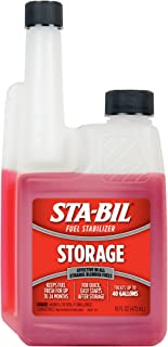 STA-BIL Storage Fuel Stabilizer - Guaranteed To Keep Fuel Fresh Fuel Up To Two Years - Effective In All Gasoline Including...
