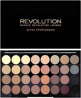 Makeup Revolution Ultra 32 shade Eyeshadow Flawless Matte