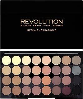 Makeup Revolution 32 Color Eyeshadow Palette, Flawless Matte