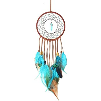 Pollyhb Dream Catchers,Handmade Lace Dream Catcher Feather Bead Hanging Decoration Gift Ornament,Dream Catcher,Dreamcatcher Multicolor