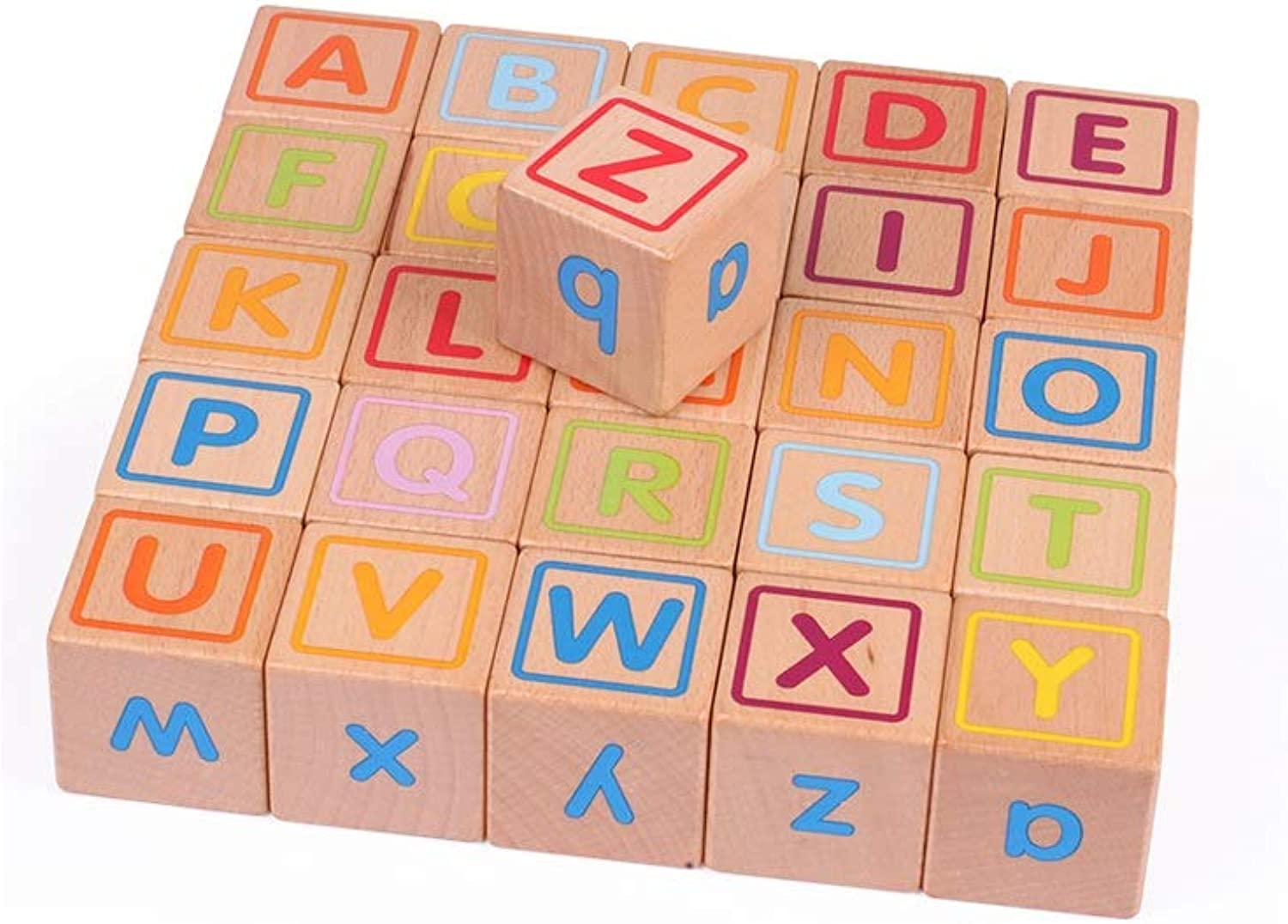Alapet  ldren's Wooden Combinazioni Blocks Personality Fashion Sixsided Design Bloc  in legno Parent ld Interazione Early Education Puzzle Building Blocks Boys and Girls Logic Thinking Training to to to