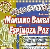 Karaoke: Mariano Barba + Espinoza Paz