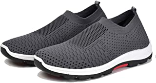 SKLT Mesh Men Casual Shoes -Up Men Shoes Lightweight Comfortable Breathable Walking Sneakers