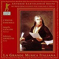 Bruni;6 Duo Concertant Fo Viol