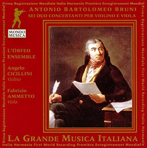 Bruni Duette für Violine und Bratsche