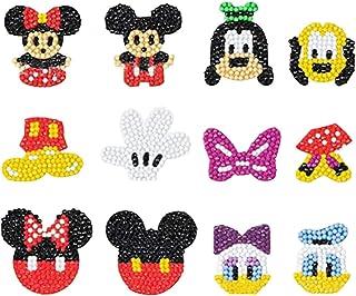 YUESEN diamant peinture autocollants Kits pour enfants 5D mignon Mickey Minnie diamant mosaïque autocollants bricolage dia...