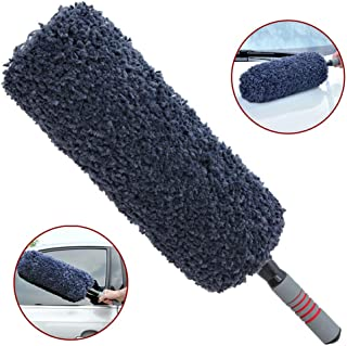 Car Duster Exterior, Quick & Easy Removes Dust and Microfiber Bristle - Exterior or Interior Use - Lint Free - Scratch Free