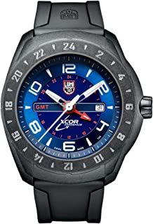 Outdoor Black Mens Watch XCOR Aerospace (XU.5023/5020 Series) - 200 M Water Resistant Day-and-Date Indication Ultra Light Carbon Case