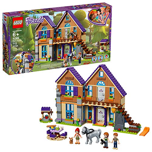 LEGO Friends Mia?s House 41369 Building Kit with Mini Doll Friends Figures and Toy Horse (715 Pieces)
