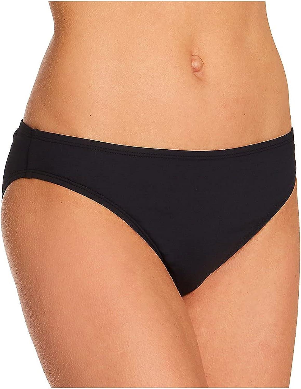 La Blanca Women's Standard Island Goddess Solid Hipster Bikini Swimsuit Bottom