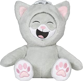 Whatsitsface Stuffed Animal with 6 Different Faces, Plush Toy for Boys Or Girls, Shows Its Emotions – Kitty Cat