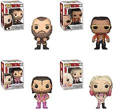 "Funko Pop WWE S6 - Braun Strowman, The Rock, ""The Bad Guy"" Razor Ramon, Alexa Bliss Vinyl Figures Set"