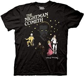 Ripple Junction It's Always Sunny in Philadelphia Adult Unisex The Nightman Play Light Weight 100% Cotton Crew T-Shirt