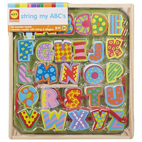 Alex - ALX1487 - Jeu Educatif - Pass Fil Abc's