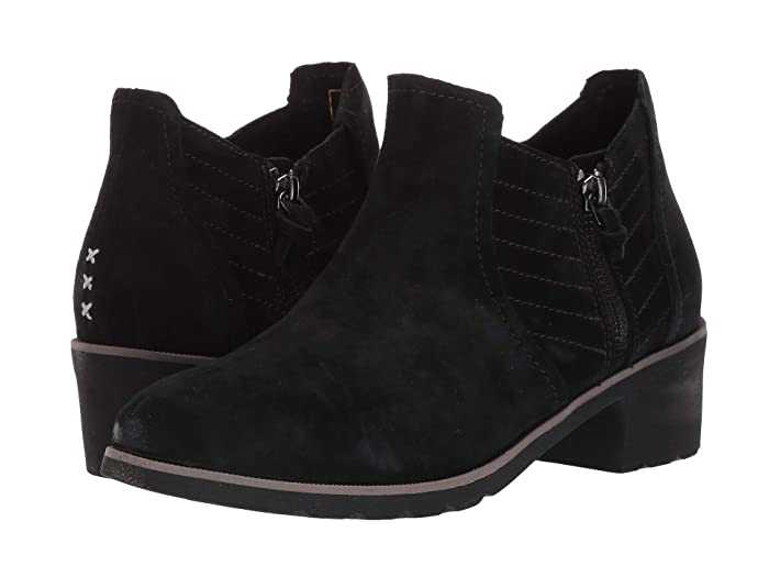 Reef  Voyage Boot Low (Black) Womens Pull-on Boots