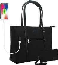 Laptop Tote Bag, Chomeiu 15.6