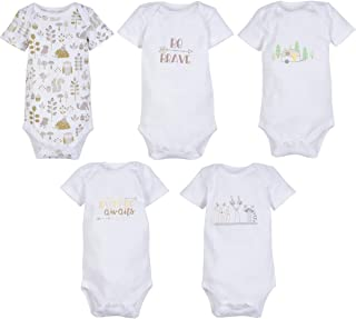 MiracleWear Cute Kid's Bodysuit Outfits (5-Pack) Baby Boy & Neutral Unisex Daywear Print Clothing Sets
