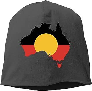 aboriginal flag beanie
