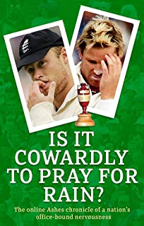 Is It Cowardly To Pray For Rain?: The Ashes Online Chronicle: The Online Ashes Chronicle of a Nation's Office-Bound Nervousness (Guardian)