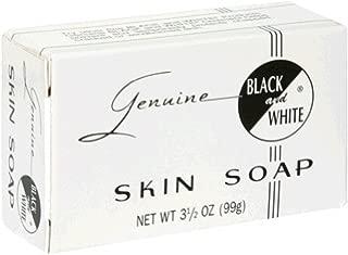 Black & White Skin Soap Bar 3.5 oz (Pack of 3)