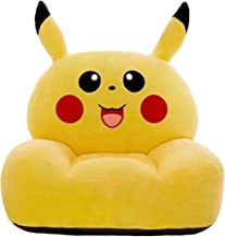 AXHSYZM Kids Sofa Chair Armchairs Toy Seat Pikachu Soft Flannel