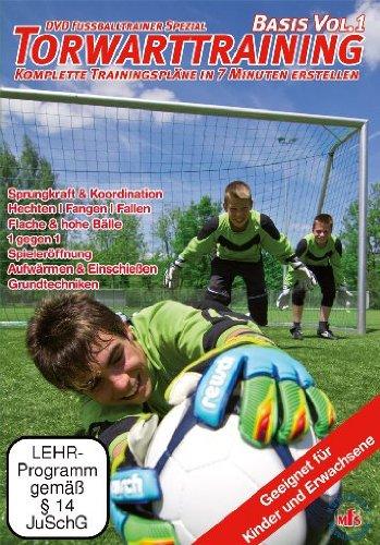 DVD Fussballtrainer Spezial: Torwarttraining - Basis Vol. 1 / Neue Fußballübungen im Fußballtraining (DVD)