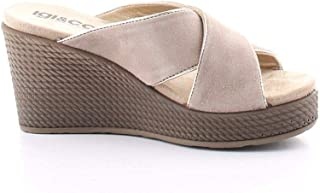 Luxury Fashion | Igi & Co Women 5180722BEIGE Beige Faux Leather Wedges | Spring-summer 20