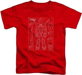 Voltron - Toddlers Voltron Schematic T-Shirt