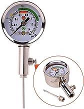 B rugby con 5/aghi ZXJOY misuratore di pressione per palloni per controllare la pressione di palloni da calcio basket