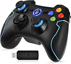 EasySMX 2.4G Wireless Controller for PS3, PC Gamepads with Vibration Fire Button Range up..
