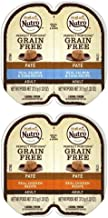 product image for Nutro Perfect Portions Grain Free Soft Loaf Cat Food 2 Flavor 8 Can Variety Bundle, (4) Each: Salmon & Tuna, Chicken - 2.6 Ounces (8 Cans Total)