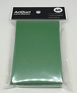 Yugioh Card Sleeves - Matte Green - 60ct