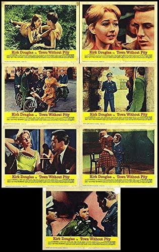 Town Without Pity - Authentic Original 14x11 Set Movie Lobby Of Regular Fees free!! dealer