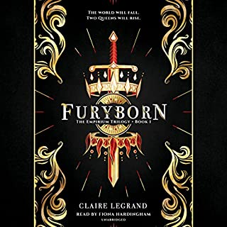 Furyborn                   By:                                                                                                                                 Claire Legrand                               Narrated by:                                                                                                                                 Fiona Hardingham                      Length: 17 hrs and 24 mins     21 ratings     Overall 3.9