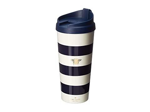 Kate Spade New York Stripe with Bee Thermal Mug
