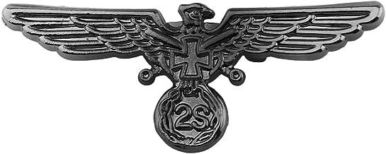Zuo Bao Soldier Warrior Army Brooch Pin American Bald Eagle Lapel Pin Masonic Knights Templar Crusader Cross Lapel Pin Freemasonry Military Pilot Jewelry