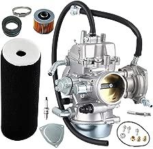 YFM660 Carburetor Carb kit for Yamaha Grizzly 660 YFM660 2002-2008 4-Stroke Engine ATV Carburetor PD42J 42mm,including Air Filter+Intake Manifold Carburetor Boot Joints