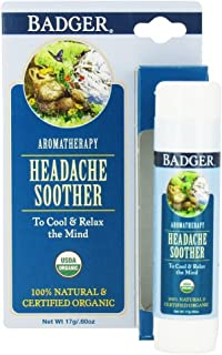 Badger Aromatherapy Headache Soother - .60 oz