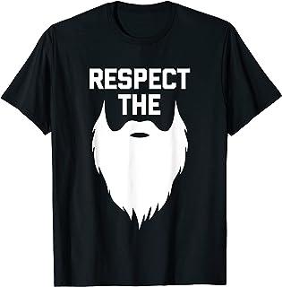 Homme Respect The Beard T-Shirt funny saying sarcastic humor Beard T-Shirt