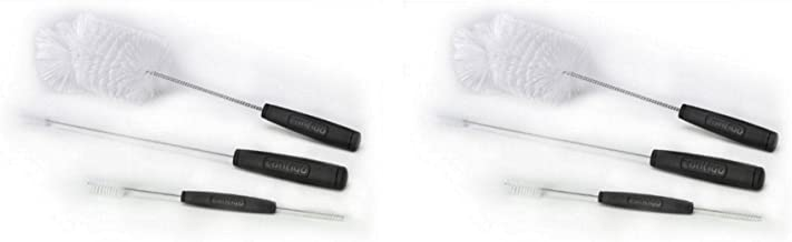 Contigo Cleaning Brushes, Set of 3 (2 Pack) - 6 Total Brushes