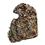 Camouflage Ghillie Leafy 3D Face Mask Woodland Full Cover Ambush Breathable Headwear Hunting Shooting Mask Clothing