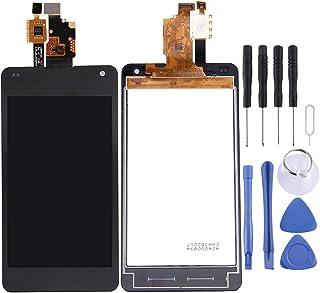 شاشة الهاتف المحمول LCD LCD Screen and Digitizer Full Assembly for LG Optimus G / E971 / E973 / E975(Black) شاشة عرض من ال...