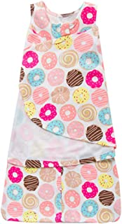 Newborn Infant Baby Sleeping Bag Swaddle Wrap Receiving Blanket,Doughnut 3-6 Months