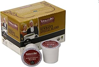 Keurig K-Cups, Newman's Own Organics Special Blend Extra Bold, 18 ct(Case of 2)