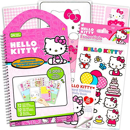 Hello Kitty Assorted Stickers Set - Over 2000 Hello Kitty Stickers (Hello Kitty Party Pack Supplies)