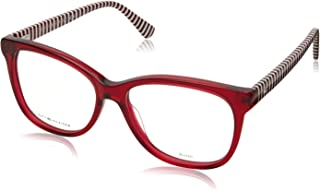 Tommy Hilfiger frame (TH-1530 C9A) Acetate Transparent Red - Blue print
