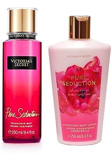 Victoria's Secret Fantasies Pure Seduction Fragrance Body Mist & Lotion Set 8.4oz each