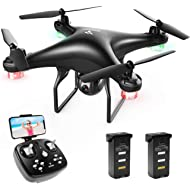 SNAPTAIN SP600 WiFi FPV Drone with Camera for Adults/Beginners, RC Quadcopter w/ 720P HD Camera,...